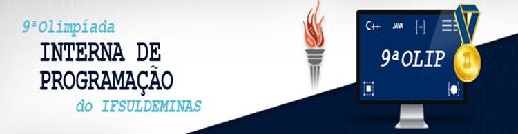 IFSULDEMINAS lança 9ª Olimpíada Interna de Programação (OLIP)