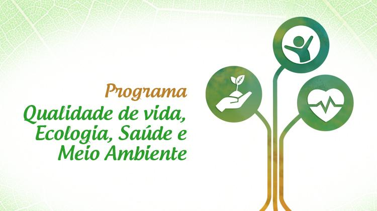 Acompanhe pelo site do campus Muzambinho e pelas redes sociais o Programa Qualidade de Vida: Ecologia, Saúde e Meio Ambiente