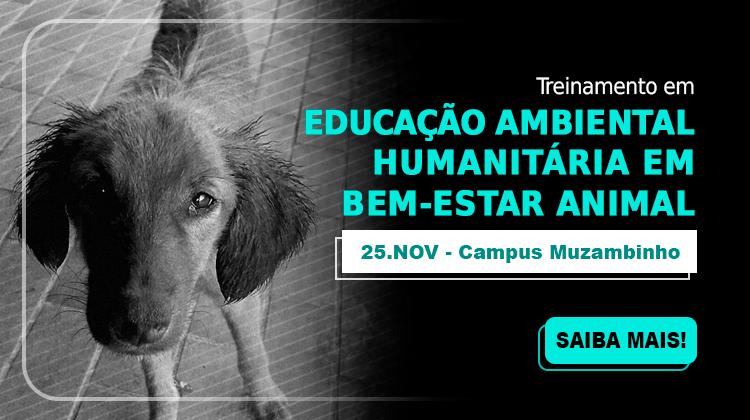 Treinamento em educação ambiental humanitária em bem-estar animal